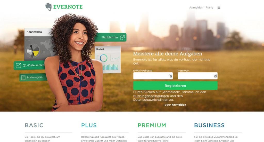 Evernote fürs Content Marketing