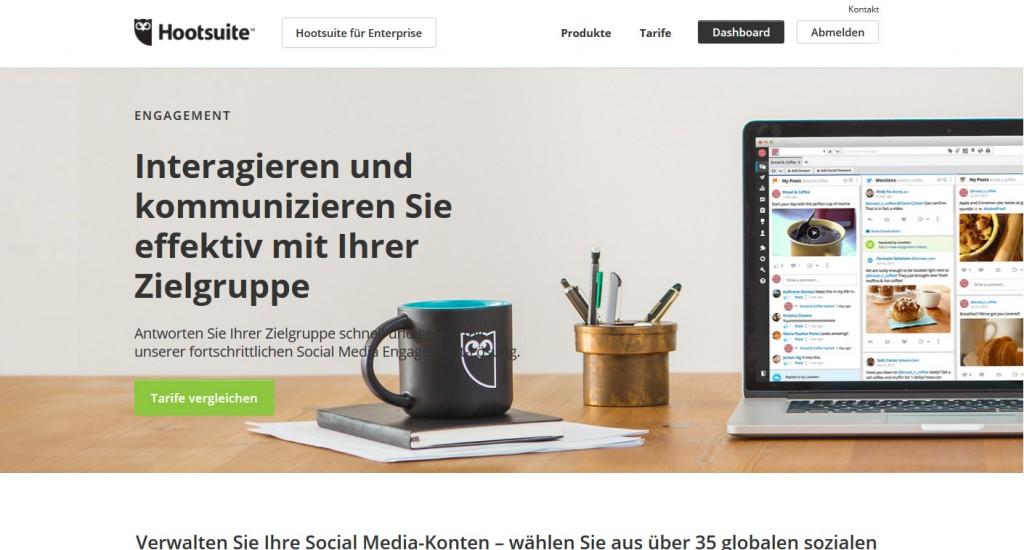 Hootsuite Content Marketing Automation