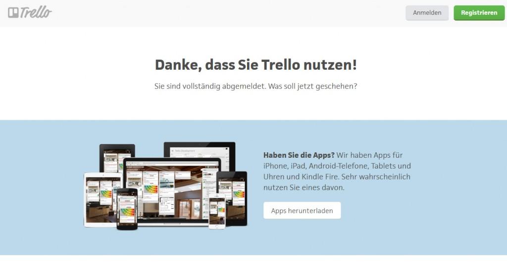 Content Marketing mit Trello