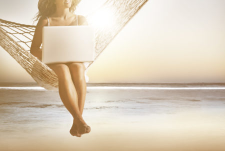 Sonne Strand und Meer im Business