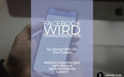 Facebook wird transpartenter