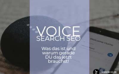 Suchmaschinenoptimierung für Voice-Search