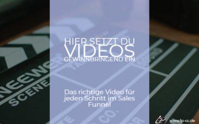 Videos gewinnbringend einsetzen